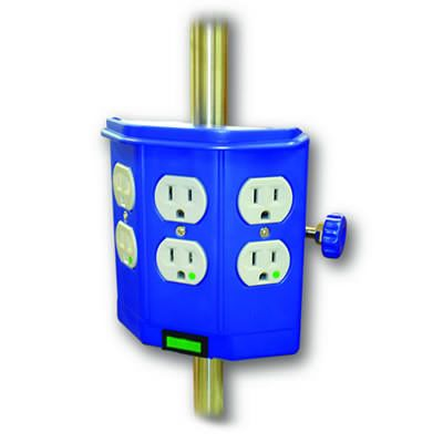 IV Pole Mount Receptacles