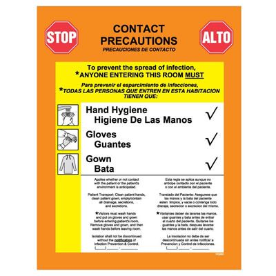 Infection Control Labels