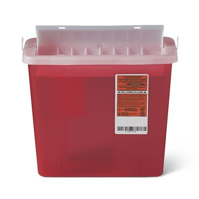 Sharps Disposal Containers & Biohazard Waste Boxes